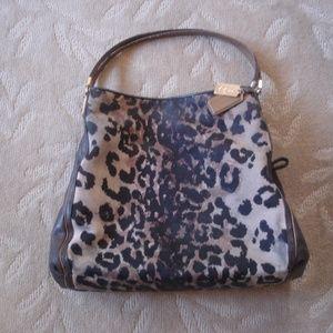 COACH: 25209 Leopard Madison Phoebe Ocelot Handbag